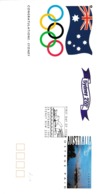 Australia 1993 Postal Stationery Cover; Olympic Games 2000; Selection Of Sydney; Opera House; Architecture - Summer 2000: Sydney - Paralympic