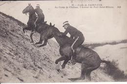 1WO  210Camp De Chalons, Dans Les Fossés Du Fort Saint Hilaire (pli Gauche Sup.) - Camp De Châlons - Mourmelon