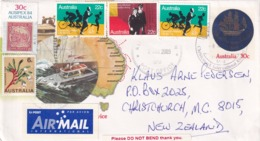 Australia 1984 Postal Stationery Cover; Costal Pilot Service In Australia; Safe Traffic; Boats; Bicycle; Flowers; - Summer 2000: Sydney - Paralympic