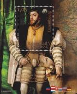 Luxembourg - 2019 - Charles V, Holy Roman Emperor - Mint Souvenir Sheet - Luxemburg