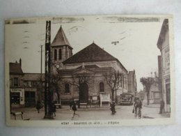 DRAVEIL - L'église (très Animée) - Draveil