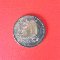 50 Öre Münze Aus Dänemark Von 1989 (schön) - Dänemark