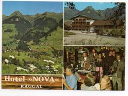 RAGGAL Hotel Nova Familie Burtscher Musiker Musik Auto - Bludenz