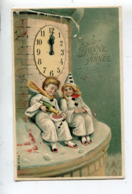 Illustrateur MSIB Pierrot Colombine - New Year