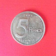 5 Francs Münze Aus Belgien Von 1994 (sehr Schön) - 1993-...: Albert II.