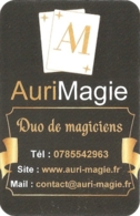 Carte De Visite - AuriMagie - Duo De Magiciens - [Angoulême] - Visitekaartjes