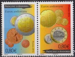 ANDORRE - Euros Andorrans - French Andorra