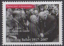 ANDORRE - Félix Peig Ballart - French Andorra