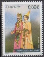 ANDORRE - Le Roi Des Maures Et La Dame Blanche - French Andorra