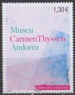 ANDORRE - Musée Carmen Thyssen - French Andorra