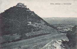 Deva (Déva) * Várrommal, Burg, Ruine, Festung, Gesamtansicht * Rumänien * AK1882 - Romania