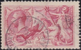 Great Britain       .   Yvert    .   154a      .       O      .       Cancelled .   /   .   Gebruikt - 1902-1951 (Kings)