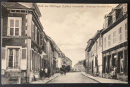 Gruss Aus Püttlingen (Lothr.)Hauptstrasse - Saarbruecken