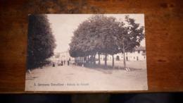 San Germano Vercellese  VERCELLI VIAGGIATA 1927 - Vercelli