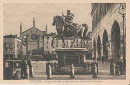 PIACENZA-PIAZZA CAVALLI MONUMENTO A RANUNZIO FARNESE - Piacenza