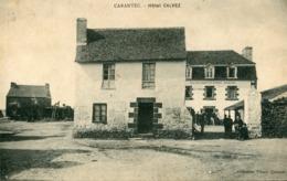 CARANTEC  ***  HOTEL CALVEZ EN 1909 *** - Carantec