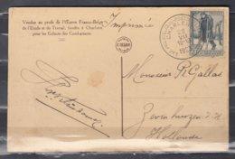 Postkaart Van Exp.Philatelique Postzegeltentoonstelling Charleroy Naar Holland - Belgique