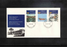 New Zealand 1979 Paliamentary Conference FDC - FDC
