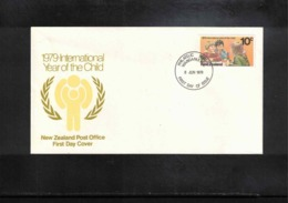 New Zealand 1979 Year Of The Child FDC - FDC