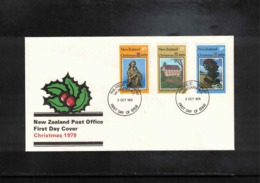 New Zealand 1979 Christmas FDC - FDC