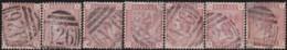 Great Britain    .   Yvert      .   68  7x  (1880-81)     .    O     .  Cancelled    .   /   .   Gebruikt - 1840-1901 (Victoria)