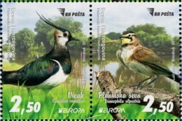 Bosnia & Herzegovina - Sarajevo - 2019 - Europa CEPT - National Birds - Mint Stamp Set - Bosnia Erzegovina