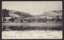 Postkaart Van CHOKIER - Flemalle Haute Les Bords De La Meuse Met Frankering RIJKSWAPEN ; Staat Zie 2 Scans ! - Flémalle