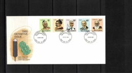 New Zealand 1980 Definitive Issue FDC - FDC