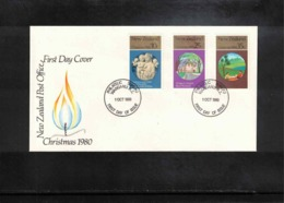 New Zealand 1980 Christmas FDC - FDC