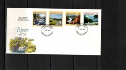 New Zealand 1981 Rivers FDC - FDC