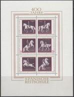 ÖSTERREICH Block 2, Postfrisch **, 400 Jahre Spanische Reitschule, 1972 - Blocks & Kleinbögen