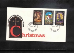 New Zealand 1981 Christmas FDC - FDC