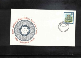 New Zealand 1981 Definitive Stamp 5$ FDC - FDC