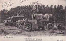 GUERRE 1914-18 / CAMPAGNE DE 1914-1915 / Auto-Canon Contre Aéroplane - War 1914-18