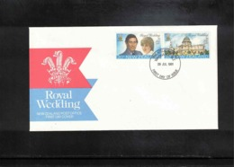 New Zealand 1981 Royal Wedding FDC - FDC