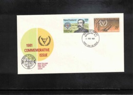 New Zealand 1981 Commemorative Issue FDC - FDC