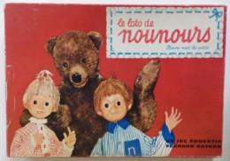 BONNE NUIT LES PETITS - Le Loto De Nounours - Nicolas Et Pimprenelle ORTF 1965 - Oud Speelgoed