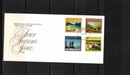 New Zealand 1982 4 Seasons FDC - FDC