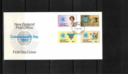 New Zealand 1983 Commonwealth Day FDC - FDC