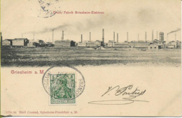 GRIESHEIM   Chem. Fabrik Greiesheim-Elektron - Griesheim