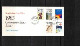 New Zealand 1983 Commemorative Issue FDC - FDC