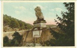 549. La Gileppe - Le Barrage Et Le Lion - Gileppe (Barrage)