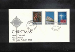 New Zealand 1983 Christmas FDC - FDC