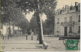 """Cachet Ambulant """"GANNAT A BORDEAUX C""""  Sur Carte Postale De GANNAT  2/3/1911   ***superbe*** - 1877-1920: Période Semi Moderne"""