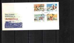 New Zealand 1984  Antarctica FDC - FDC