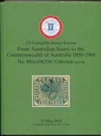 2018 Corinphila Auction Catalogue + Prices Realised. Australian + States 1850 - 1960. The BESANCON Collection (part 2) - Cataloghi Di Case D'aste