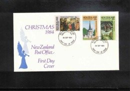 New Zealand 1984  Christmas FDC - FDC