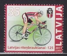 2011 LETTONIE Latvia  ** MNH Vélo Cycliste Cyclisme Bicycle Cycling Fahrrad Radfahrer Bicicleta Ciclista Ciclismo [bj101 - Radsport