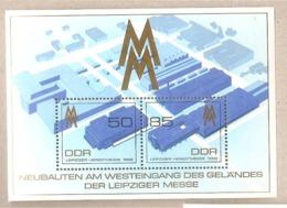 DDR - Foglietto Nuovo MNH Michel Block 99: Fiera Di Lipsia - 1989 * G - Nuovi