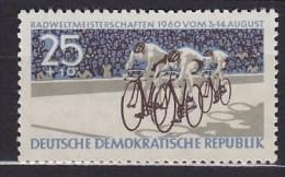 1960 République Démocratique Allemande GERMAN DEM. REP   ** MNH Vélo Cycliste Cyclisme Bicycle Cycling Fahrrad Ra [br92] - Radsport